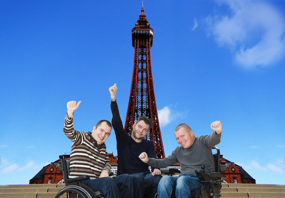 disabled holidays at Blackpool Tower