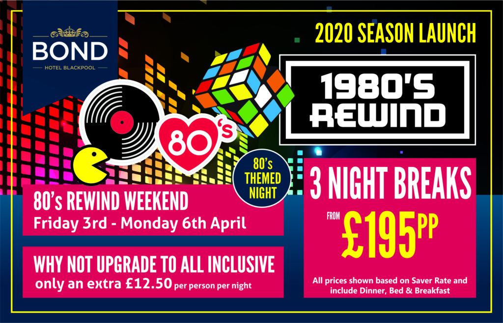 80's Rewind Weekend April 2020