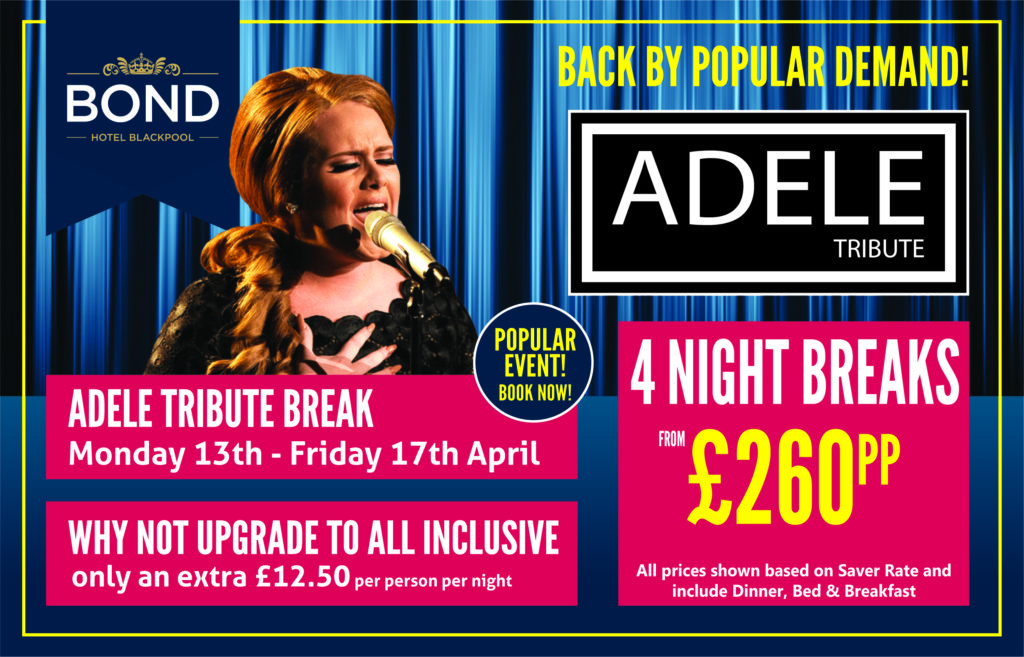Adele Tribute Break April 2020