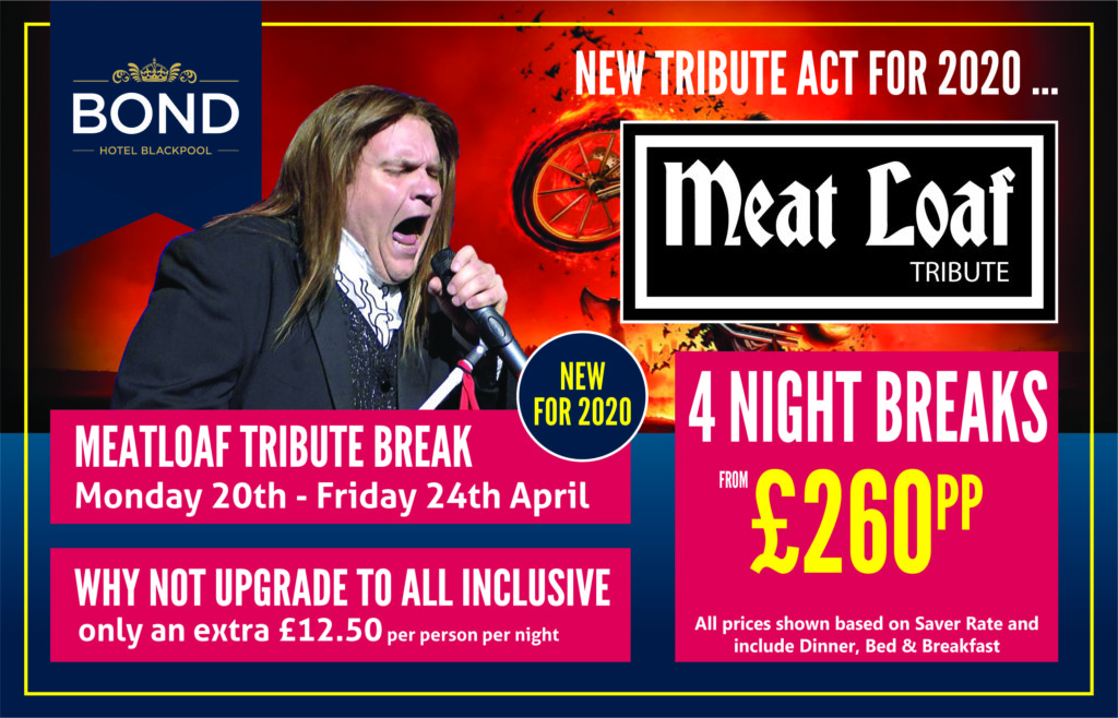 Meatloaf Tribute April 2020