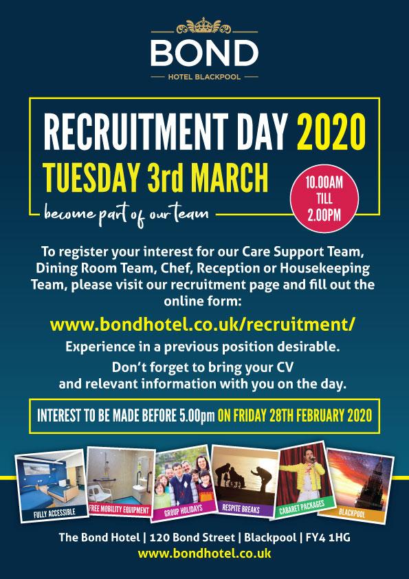 Recruitment Day 2020 Information